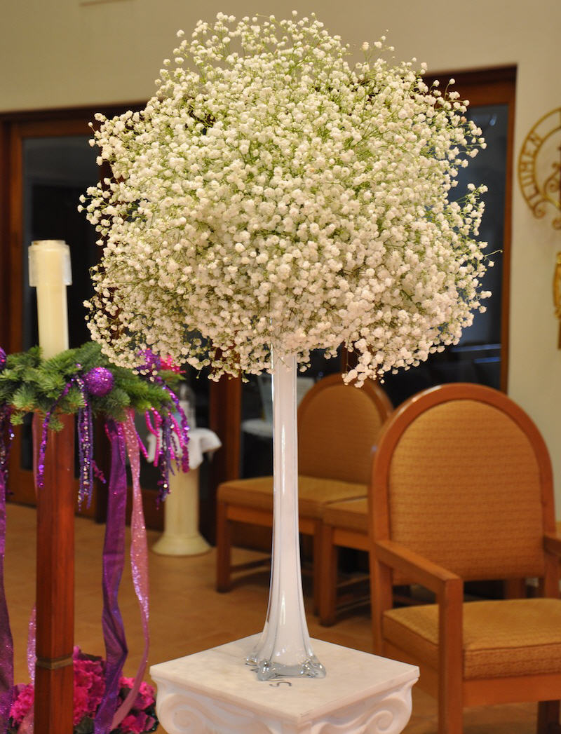 Baby S Breath Wedding Trend Winter White Flowers How