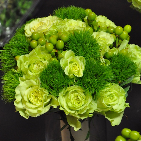 St. Patrick's Day Flowers from flowerduet.com