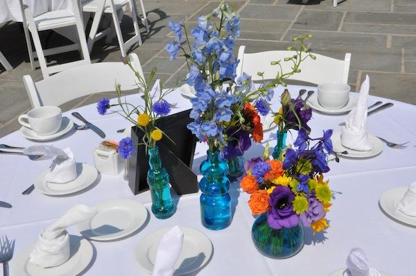 Radiant orchid color floral design