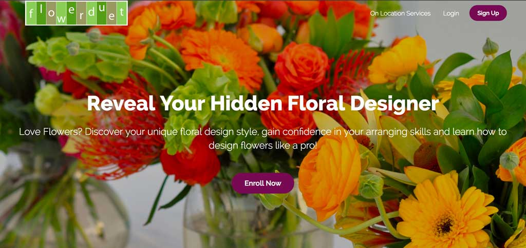 Online Flower Arranging Courses
