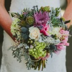 Bridal Bouquet by Flower Duet. Photo by Hom Photography.