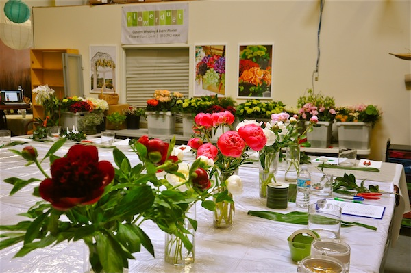 Flower Arranging Classes Los Angeles