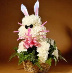 Flower Bunny Rabbit Novelty