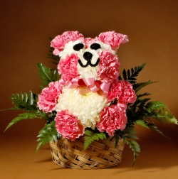 Flower Novelty Teddy Bear