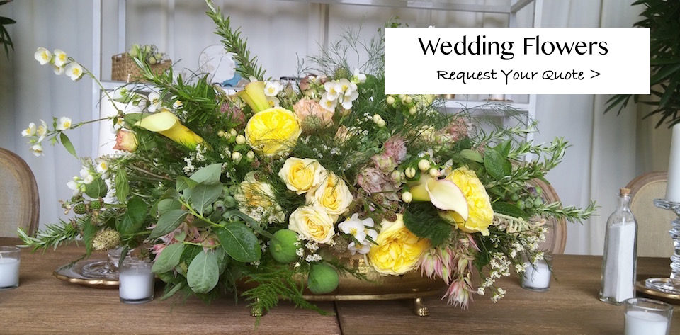 Custom Wedding Flowers by Flower Duet