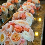 Peach Rose Bouquets