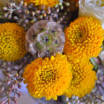 Yellow Grey Bouquets