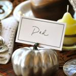 Gilded Namecard Pumpkin