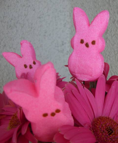 Easter Flowers How To Create A Peeps Easter Flower Arrangement