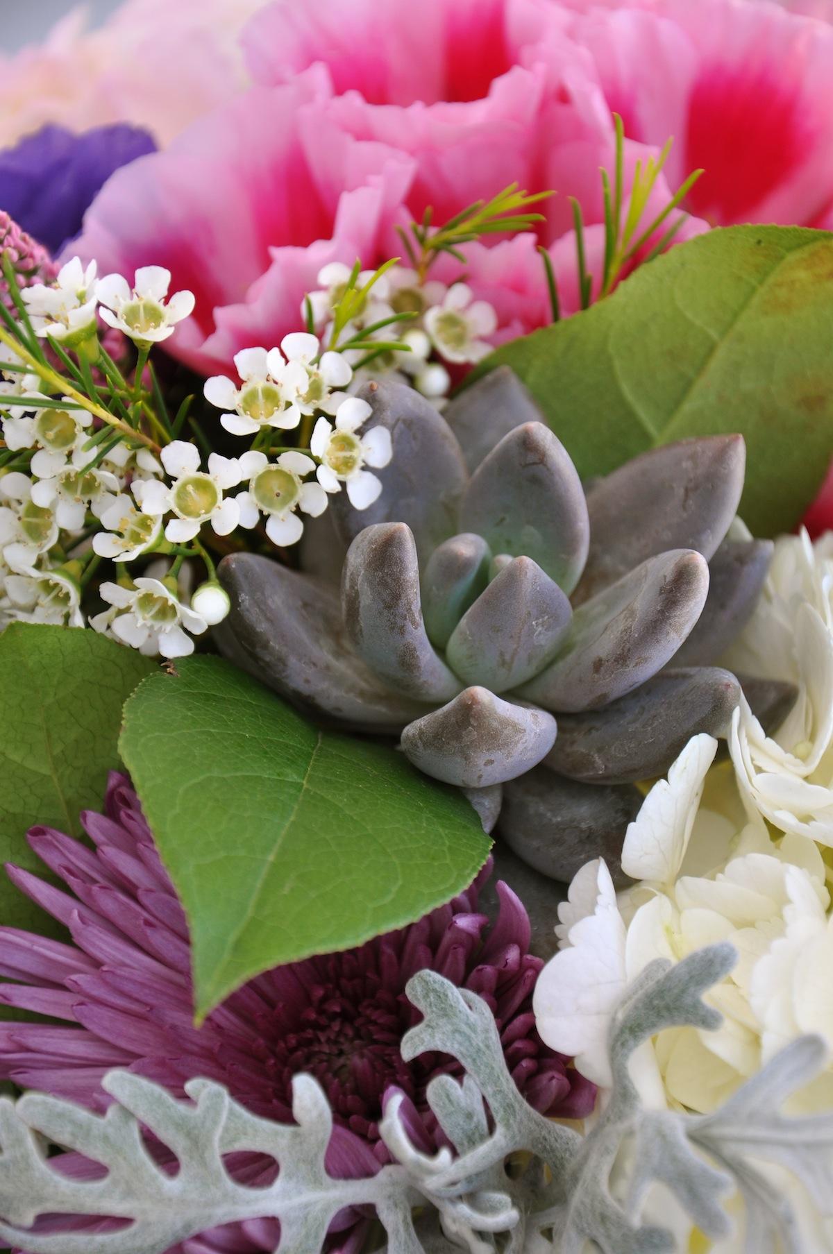 Smog Shoppe Wedding Flowers Succulent Wedding