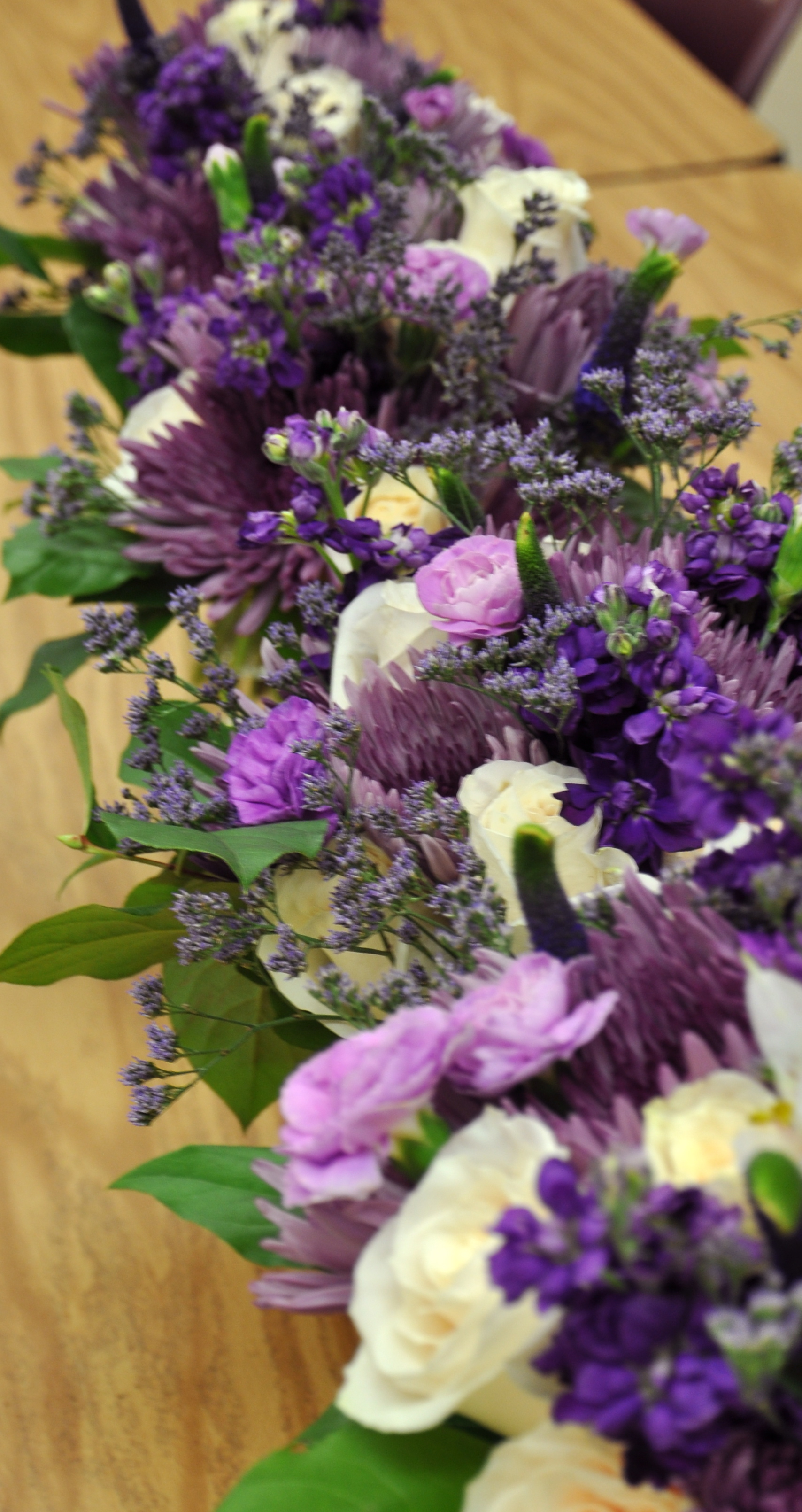 Purple Wedding Flowers | Purple & Green Wedding | Garden Wedding