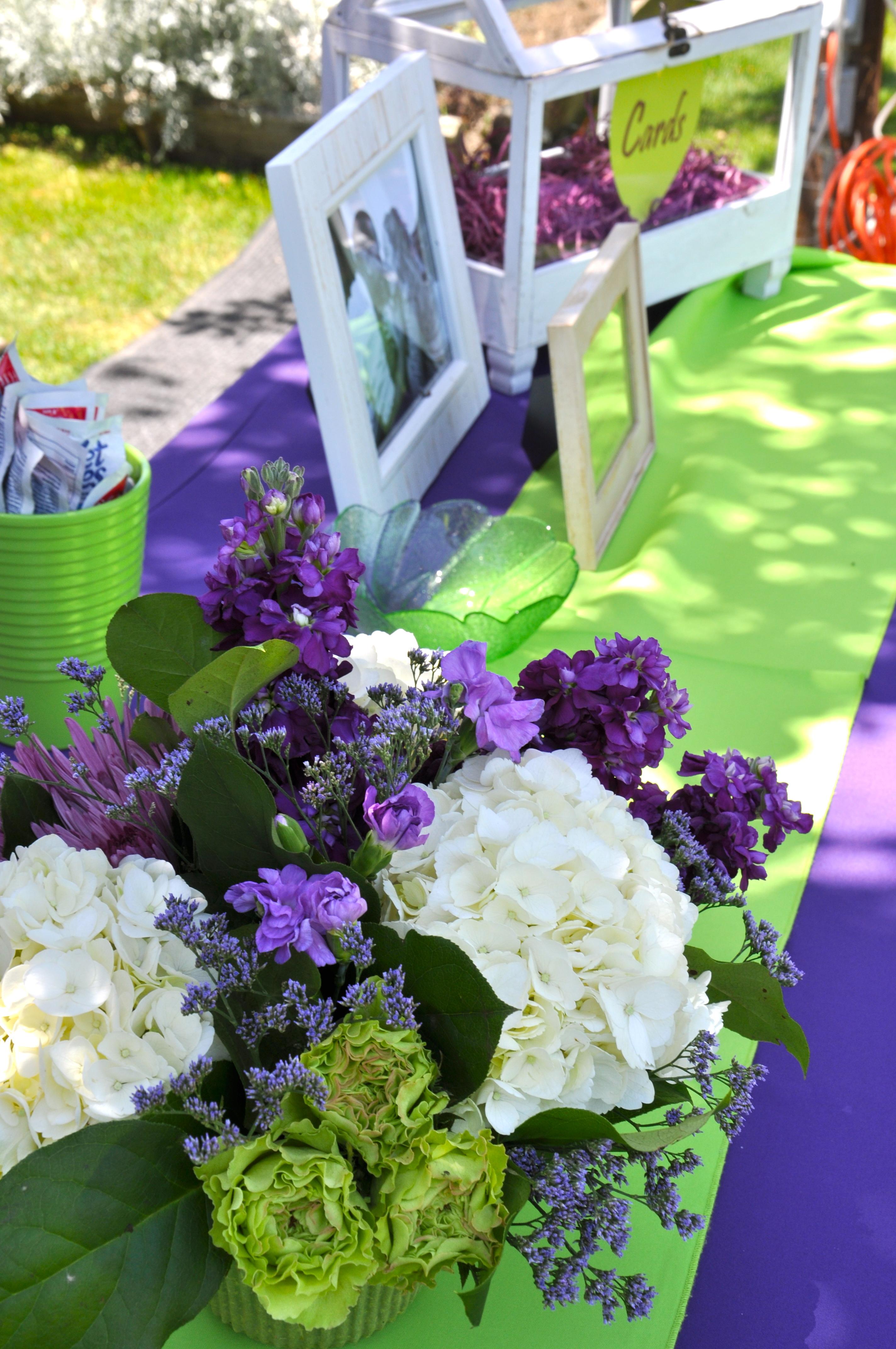 Purple And Green Themed Wedding Gallery - Wedding Decoration Ideas