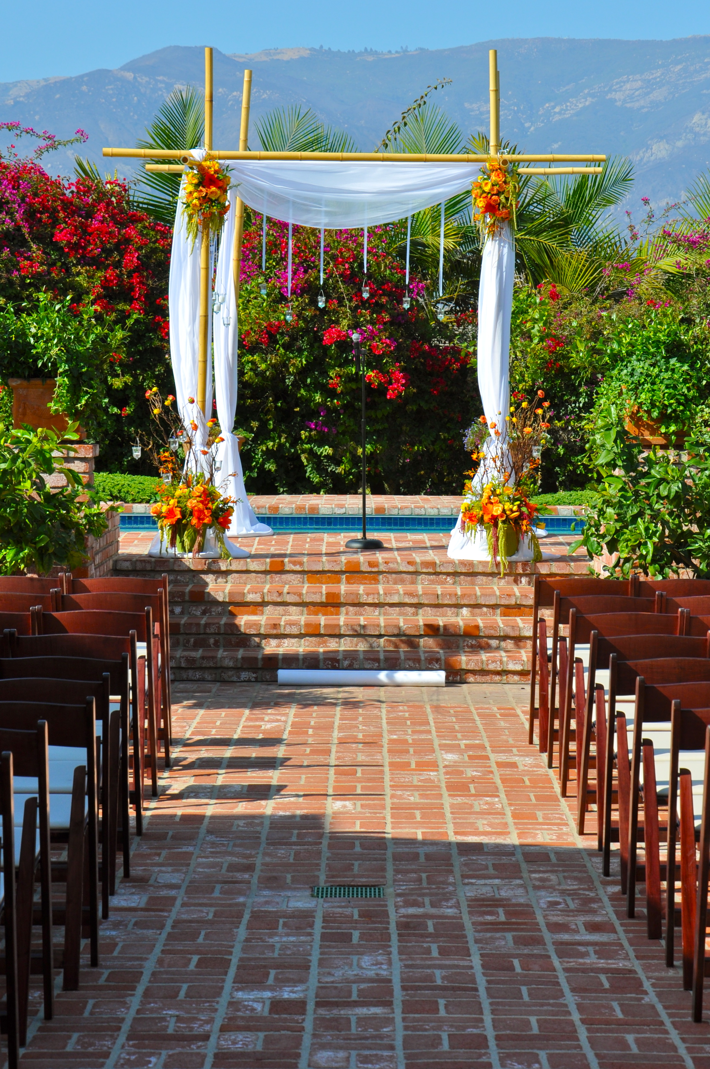 32 cool bamboo wedding decoration bamboo gazebo summer flower arch decorations flowerduet for bamboo wedding decoration ideas 49jwn junglespirit Image collections