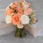 Peach Coral Bouquet