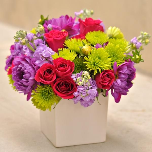 Finished Friendship Flower Arrangement by Flower Duet
