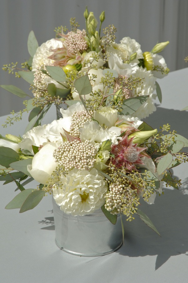 Blushing Bride Protea Wedding Bouquet - FlowerDuet.com