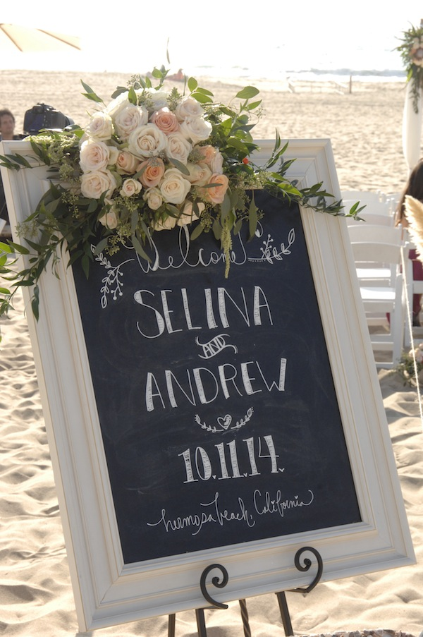 Beach Wedding Flowers.