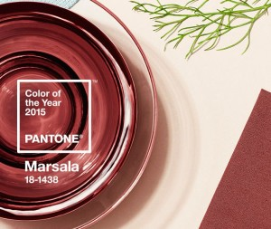 2015 Pantone Color of the Year: Marsala