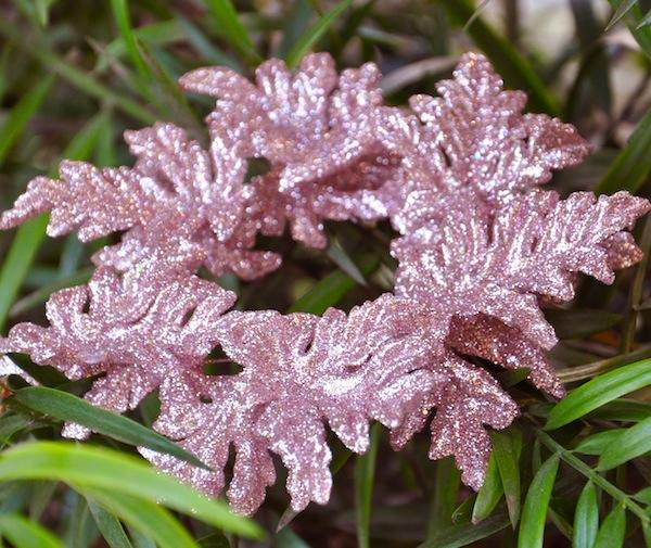 Pink Metallic Wreath