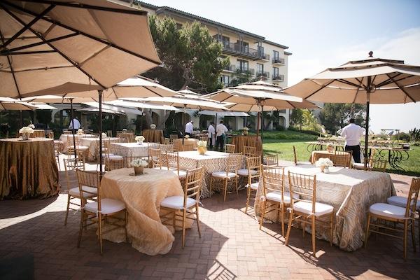 Luxury outdoor setting
