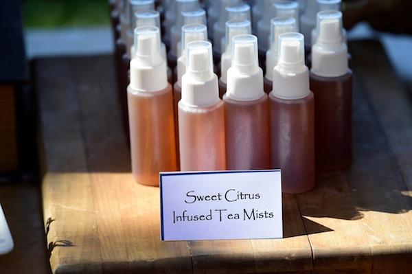 Sweet Citrus Infused Tea Mists