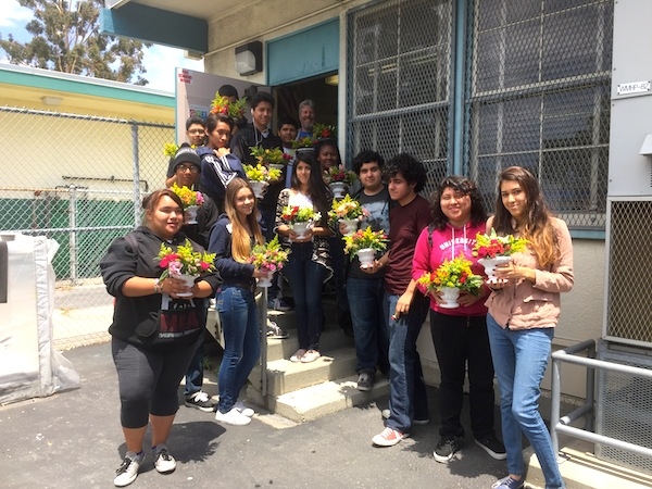 High School Horticulture Class
