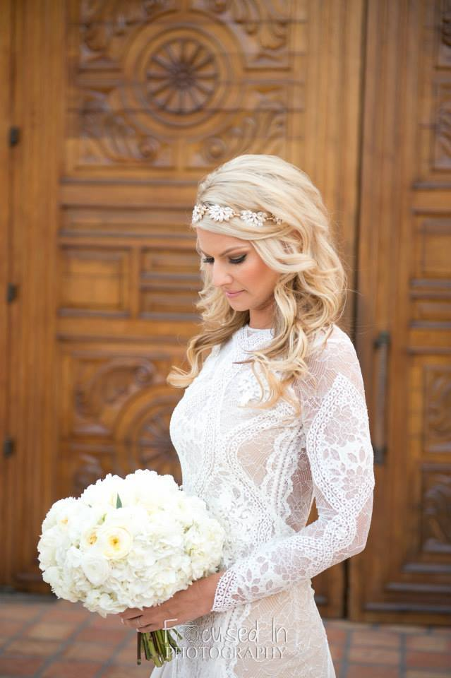 flowerduet Bride at La Quinta Resort