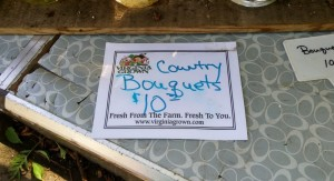 Country Bouquet Sign