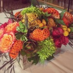 Flower Duet's Sunset Colored Flowers for Weddings and Events