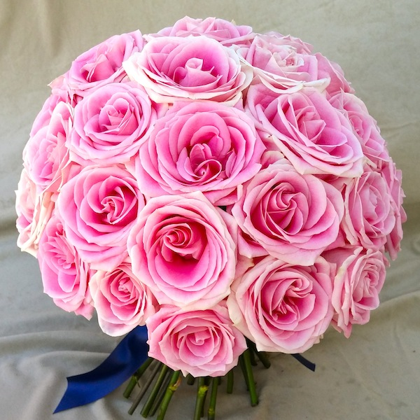 Pink Bridal Bouquet by Flower Duet