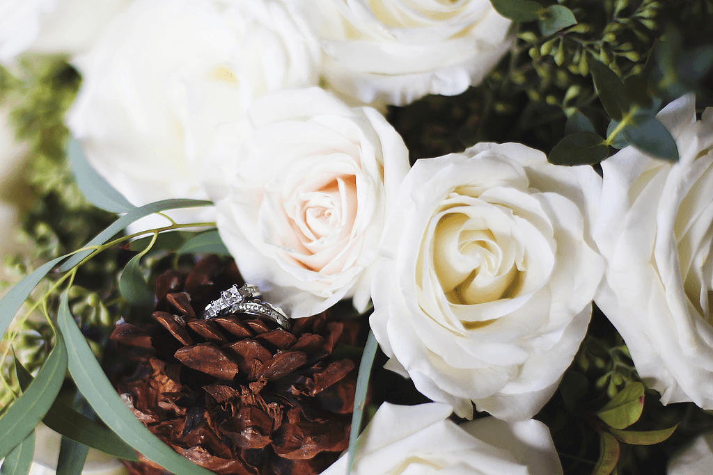 Winter Wedding Flowers are Lovely and on PopSugar.com |