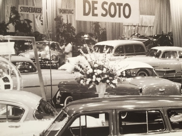 Auto Show Flowers History