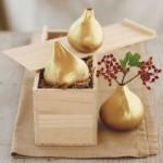 Gilded Fig Vases