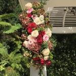 Hotel Bel Air Gazebo Wedding Flowers