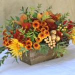 Fall Thanksgiving Centerpiece for long tables.