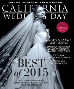 Flower Duet featured in CA Wedding Day Magazine