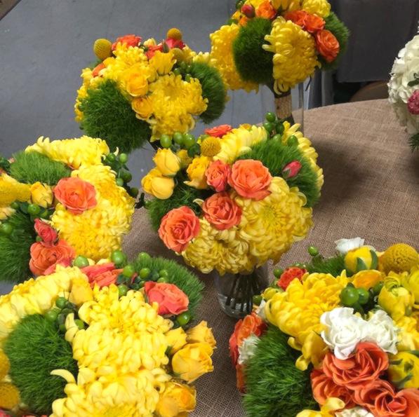 citrus-flower-bouquets