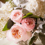 Pantone Color Rose Quartz Wedding Centerpiece