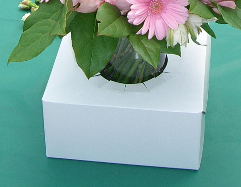 Transport Box for Flowers