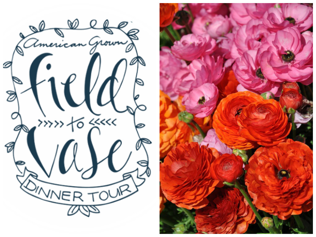 Flower Duet to appear as floral designers for the Flower Fields Field to Vase Dinner on April 13, 2016