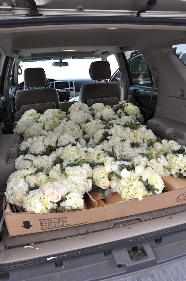 How to Transport flowers