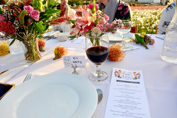Field to Vase Table Setting
