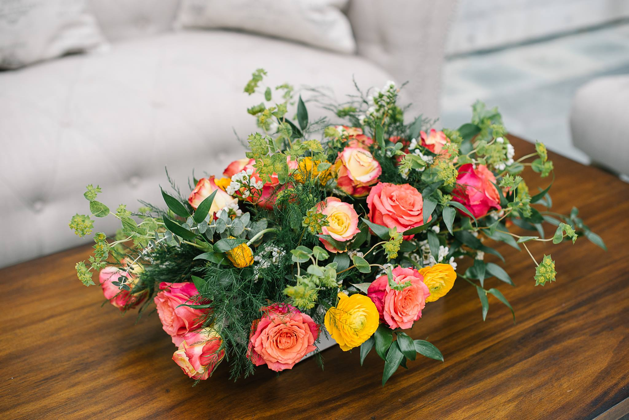 Flower Duet Sponsors Florals For Wipa Luncheon At Skirball