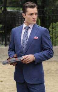 Ed Westwick Pocket Square
