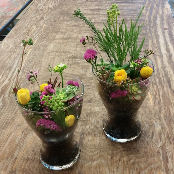 Mini Kids Floral Terrariums
