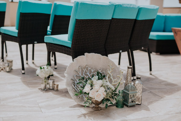 Aquamarine wedding ideas