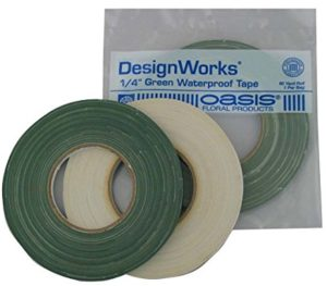 Green waterproof floral tape