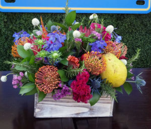 California Grown Flowers are a current trend in floral design which we focus on in our newsletters.