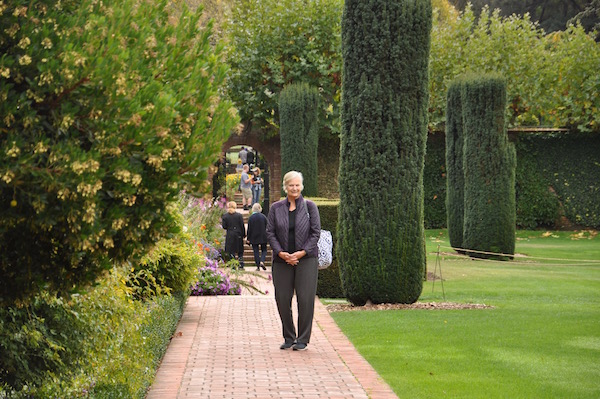 Mom at Filoli