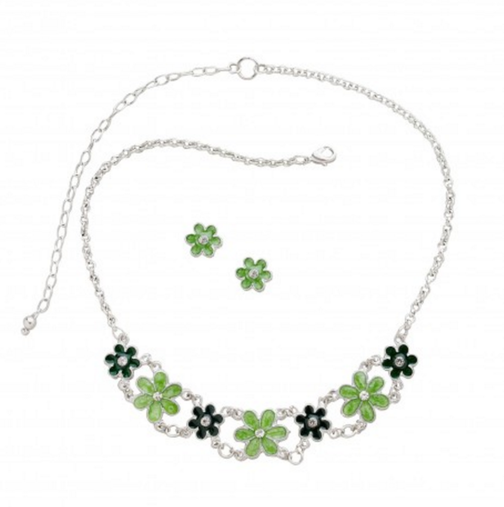 Posy Dazzle Jewelry Set. Source: Ten Thousand Villages.